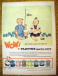 Vintage Ad: 1956 Playtex Party Sets