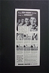 Click here to enlarge image and see more about item 1458: Vintage Ad: 1940 Bromo Seltzer with Ben Hogan
