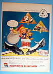Vintage Ad: 1957 Buster Brown Shoes