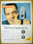 1959 Kodak Brownie 20 Camera with Ed Sullivan