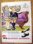 Vintage Ad: 1959 Buster Brown Shoes By Alex Ross