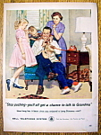 Click here to enlarge image and see more about item 14613: Vintage Ad: 1959 Bell Telephone System