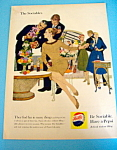 1959 Pepsi-Cola (Pepsi) with Group Of People & Pepsi