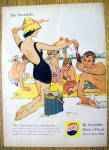 1959 Pepsi-Cola (Pepsi) w/Woman & Man Enjoying Beach