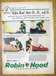 1959 Robin Hood Shoes with Robin Hood