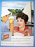 Vintage Ad: 1959 Schlitz Beer
