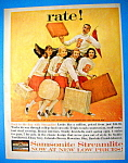 Vintage Ad: 1960 Samsonite Streamlite Suitcases