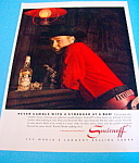 Vintage Ad: 1962 Smirnoff Vodka with George Goebel