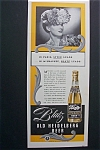 1940 Blatz Old Heidelberg Beer w/Woman with Flower Hat