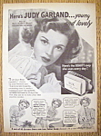 Vintage Ad: 1943 Lux Toilet Soap with Judy Garland