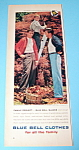 1959 Blue Bell Clothes with 2 Men & Boy Wearing Slacks