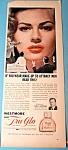 Vintage Ad: 1956 Tru-Glo Makeup w/ Anita Ekberg