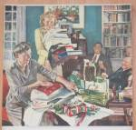 Click to view larger image of 1948 Beer Belongs Ready For Xmas By Douglas Crockwell (Image2)