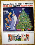 Vintage Ad: 1963 Doubl-Glo Holiday Decorations