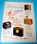 Click here to enlarge image and see more about item 14724: Vintage Ad: 1948 RCA Victor Radio