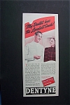 1940 Dentyne Chewing Gum w/Dentist Talking to Woman