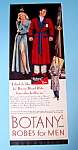 1948 Botany Robes For Men with Woman Staring At Man