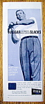 1959 Haggar Slacks with Baseball's Mickey Mantle