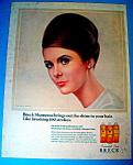 Vintage Ad: 1966 Breck Shampoo