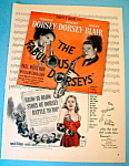 Click here to enlarge image and see more about item 14758: Vintage Ad: 1947 The Fabulous Dorseys