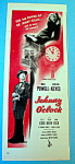 1947 Johnny O' Clock with Dick Powell & Evelyn Keyes