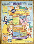 Click here to enlarge image and see more about item 14772: Vintage Ad: 1967 Clorox with Snow White & 7 Dwarfs