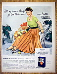 Vintage Ad: 1950 Lux Flakes with Anne Baxter