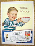 Click to view larger image of Vintage Ad: 1950 Campbell's Vegetable Soup (Image1)