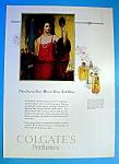 Vintage Ad: 1925 Colgate's Perfumes