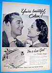 Vintage Ad: 1950 Lux Toilet Soap with Coleen Gray