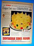 Vintage Ad: 1953 Softasilk Cake Flour