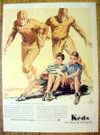 Vintage Ad: 1941 Keds Shoes of Champions