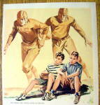 Click to view larger image of 1941 Keds Shoes of Champions with 2 Boys Sitting Down (Image2)