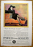 Click to view larger image of Vintage Ad: 1925 Ipswich De Luxe Hosiery (Image1)