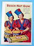 1936 Beech-Nut Gum with Two Women Holding Bucket