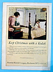 Click here to enlarge image and see more about item 14920: Vintage Ad: 1922 Kodak