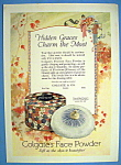 Vintage Ad: 1924 Colgate's Face Powder