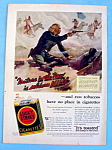 1932 Lucky Strike Cigarettes with Custer's Last Stand