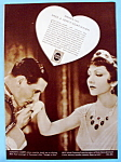Vintage Ad:1933 Hinds Honey & Almond Cream w/C. Colbert