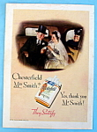 1934 Chesterfield Cigarettes w/Man & Woman That Married