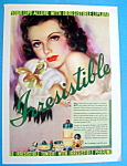 1937 Irresistible Perfume & Lip Lure with Lovely Woman