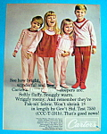 Vintage Ad: 1964 Carter's Dandy Stripe Sleepers