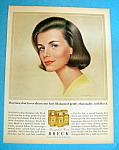 Vintage Ad: 1964 Breck Shampoo