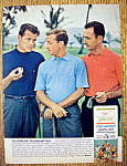 1966 Jantzen Golf Shirts with Frank Gifford/Bob Cousy