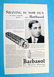 Vintage Ad: 1939 Barbasol with Phil Baker