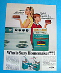 Vintage Ad: 1966 Suzy Homemaker Appliances