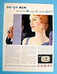 Vintage Ad: 1931 Camay Soap