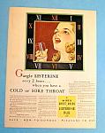 Vintage Ad: 1932 Listerine