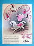 Vintage Ad: 1940 Revlon Pink Lemonade & Red Punch