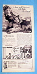 Click here to enlarge image and see more about item 15113: Vintage Ad: 1947 Ideal Dog Food